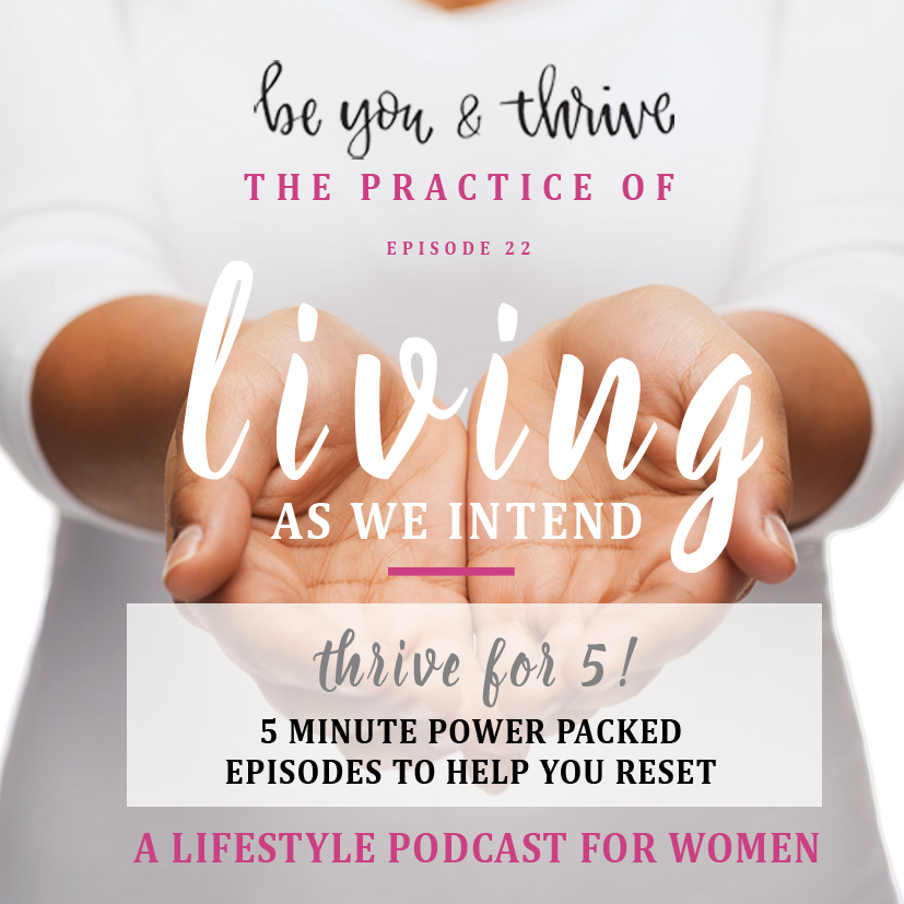 thrive podcast women lifestyle